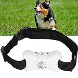 XQAQX Halsband, Antibellhalsband, Vibrationshalsband für Hunde, Antibellhalsband für Haustiere, Hundehalsband für kleine Hunde mit Ton und Vibration
