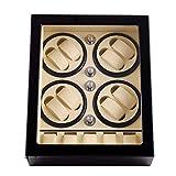 Audivik Uhrenbeweger für Automatikuhren für 8,Batterie Holz Leise Watch Winder 8+5 Box Motor Automatic Uhrenbox Uhrenboxen Uhrenaufbewahrung Uhrenkasten...
