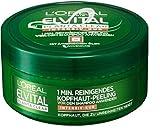 L'Oréal Paris Elvital Haarmaske - Intensiv-Kur Peeling - 3er Pack (3 x 150 ml)