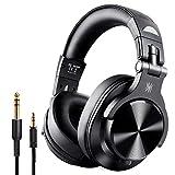 OneOdio Bluetooth Kopfhörer Over Ear, Geschlossene Studiokopfhörer mit Share Port, kabelgebundene und kabellose professionelle DJ-Kopfhörer für E-Drum Piano...