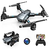 SNAPTAIN A15H Drohne mit Kamera HD 720P Faltbare Drohne FPV WLAN 120° Weitwinkel RC Quadrocopter/Kopfloser Modus/Höhehalten/3D...