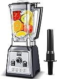 Standmixer Smoothie Maker, AMZCHEF 2000W Smoothie Blender, Standmixer Hochleistung(25,000 U/min,4 Vorprogramme,2L BPA Free...