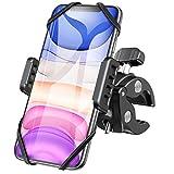 DesertWest Handyhalterung Fahrrad, 360° Drehbarer Universal Motorrad Handyhalter - für iPhone X/8/7/6, Samsung und Handy mit 4,3-6,5 Zoll