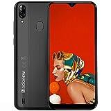 Blackview A60 Pro Dual-SIM 4G Smartphone ohne Vertrag Günstig - 6,1 Zoll HD Display 3GB RAM + 16GB ROM, 256GB erweiterbar, 4080mAh Akku 8MP+5MP Dual Kamera...
