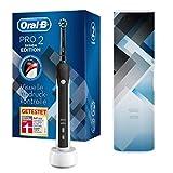 Oral-B PRO 2 2500 Design Edition Elektrische Zahnbürste/Electric Toothbrush mit visueller Andruckkontrolle für extra Zahnfleischschutz, 2 Putzprogramme inkl....