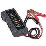 Batterietester Kfz 12V Autobatterie Tester Batterie Tester LED Lichter Digital Generator Prüfer Testgerät Power Check für Auto Fahrzeug Motorrad Generator...