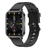 Smartwatch 1.7 '' Vollbilduhr Fitness Tracker Uhr Männer Frauen, Bluetooth Smart Watch Herzfrequenzmesser Handgelenkbildschirm Fitnessuhr Wasserdicht IP68...