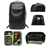 COR Surf 28L Handgepäck Reiserucksack Laptop Rucksack für 15 - 16 Zoll Notebooks | Flug Genehmigt Rucksack Kabinenrucksack für Weekender