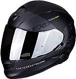 Scorpion Unisex– Erwachsene NC Motorrad Helm, Schwarz/Grau, L