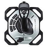Logitech G Extreme 3D Pro Joystick, Drehknopf Rudersteuerung, 12 Programmierbare Tasten, 8-Wege Rundblickschalter, Stabiler Sockel, Schnellfeuerauslöser,...