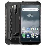 Outdoor Smartphones Ohne Vertrag, Ulefone Armor X3 Handys 5,5-Zoll IP68/IP69K Wasserdicht, 2GB + 32GB, 5000 mAh, Android 9 mit Corning Gorilla Glass, Globales...