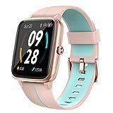 Holabuy Smartwatch Damen Herren GPS Armbanduhr Fitnessuhr, Pulsuhr Fitness Tracker Smart Watch mit 14 Traningsmodi Schrittzähler Stoppuhr Schlafmonitor...