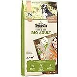 bosch HPC BIO | Adult Hühnchen & Apfel | Hundefutter für ausgewachsene Hunde aller Rassen | 100 % landwirtschaftliche Rohstoffe aus nachweislich biologischem...