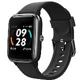 Lintelek Smartwatch 1.3 Zoll Touch Farbdisplay Screen mit GPS 5ATM Wasserdicht Smart Watch mit Herzfrequenzmesser Schlafmonitor Fitness Tracker Wettervorhersage...