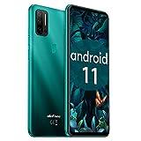 Ulefone Note 11P 4G Handys - Android 11 Smartphone ohne Vertrag Quad-Rückfahrkameras mit 2MP Marco-Objektiv und 8MP Weitwinkelobjektiv 8+128GB...
