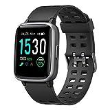 Willful Smartwatch,Fitness Armband mit Pulsuhr 1,3 Zoll Touchscreen Fitness Uhr 5ATM Wasserdicht Fitness Tracker Sportuhr mit Schrittzähler Stoppuhr Smart...