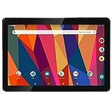 Tablet 10 Zoll Android 9.0, iProda Tablet-PC, 3GB RAM, 64GB, Erweiterte Kapazität 128G, Ultra Dünn Metallschale, Quad Core Processor, WLAN...