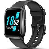 LIFEBEE Smartwatch, Fitness Armband mit Blutdruckmesser Pulsoximeter Blutsauerstoff-Monitor(SpO2) Sportuhr Fitnessuhr Schrittzähler IP68 Wasserdicht Pulsuhr...