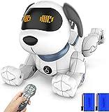 Ok K! okk Fernbedienung Hunderoboter, 2020 Neu Ferngesteuerter Hund mit Singen, Tanzen, Sprechen, intelligenten Früherziehung Spielzeug für 3-12 Jahre Jungen...