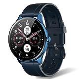 Smartwatch für Herren & Damen, IP68 Wasserdichter 1,3 Zoll Touchscreen Schrittzähler Fitness Tracker Intelligente Sportuhr mit Herzfrequenzmesser...