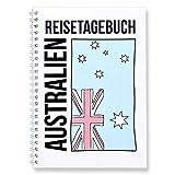 CUPCAKES & KISSES® Reisetagebuch zum selberschreiben I für Australien I interaktiv zum ausfüllen I mit spannenden Aufgaben I DIN A5 Ringbuch