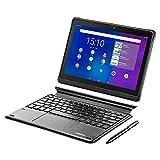 MEDION E10900 25,5 cm (10 Zoll) Full HD Tablet inklusive Tastatur (LTE, Android 10, Quad Core Prozessor, USB Typ C, 3GB RAM, 32GB Speicher, WLAN, Bluetooth, 8MP...