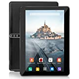 10 Zoll Android Tablet, Android 9.0, 5G Wi-Fi, 4GB RAM, 64GB ROM, Octa -Core Prozessor, IPS HD Display, 3G Phablet mit Dual SIM Card Slots, Bluetooth, 5000 mah...