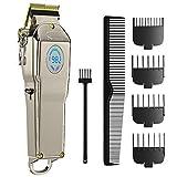 homeasy Elektrische Haarschneidemaschine für Herren USB Haartrimmer mit 4 Kammaufsätze Profi Haarschneider Maschine SET