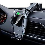 Auckly 15W Fast Wireless Charger Auto Handyhalterung Mit Ladefunktion Automatischer Induktion Qi Ladestation Auto Kfz Ladegerät Handy Halterung Auto Saugnapf...