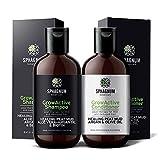 Shampoo- und Conditioner-Set für Haarwachstum - komplette natürliche Biotin und Argan-Öl Behandlung mit effektivem Torfschlamm für dünnes und strapaziertes...