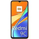Xiaomi Redmi 9C Smartphone 2GB 32GB 6.53' HD+ Dot Drop Display 5000mAh (typ) AI Face Unlock 13 MP AI Triple Kamera Orange
