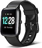 LETSCOM Smartwatch, Fitness Tracker 1,3 Zoll Farbdisplay Uhr mit Herzfrequenzmesser Schrittzähler und Schlafmonitor, wasserdicht Sportuhr für Frauen Männer...