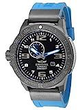 HÆMMER Navy Diver II | Blue Ocean | Herren Automatikuhr aus Edelstahl | Exklusiv Limitierte Taucher-Uhr mit FKM Kautschuk Armband | Wasserdicht bis 300m |...
