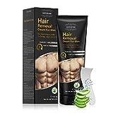 Enthaarungscreme Haarentfernungscreme Männer Frauen, Haarentferner mit Aloe Vera, Schnelle und Effektive, Haarentfernung Schmerzlose für Intimbereich Bikini...