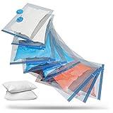 SilverRack Vakuumbeutel Set [8 Stück] in 3 Größen - Staubsauger Vakuumierbeutel für Kleidung u. Bettdecken - Aufbewahrung Vakuumbeutel für Kleidung XXL -...