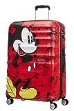 American Tourister Wavebreaker Disney - Spinner L Koffer, 77 cm, 96 L, Rot (Mickey Comics Red)