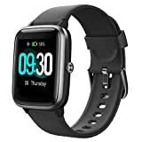 Willful Smartwatch,1.3 Zoll Touch-Farbdisplay Fitness Armbanduhr mit Pulsuhr Fitness Tracker IP68 Wasserdicht Sportuhr Smart Watch mit...