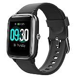 Willful Smartwatch,1.3 Zoll Touch-Farbdisplay Fitness Armbanduhr mit Pulsuhr Fitness Tracker IP68 Wasserdicht Sportuhr Smart Watch mit...