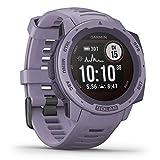 Garmin Instinct Solar - wasserdichte GPS-Smartwatch mit Solar-Ladefunktion für bis zu 54 Tage Akku. Mit Sport-/Fitnessfunktionen, Herzfrequenzmessung am...