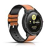 Smartwatch, Fitness-Tracker mit Herzfrequenz, Farbbildschirm, Bluetooth-Smartwatch, Schrittzähler, Schlaf-Tracking, SMS-Anrufbenachrichtigung für iOS und...
