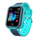 LT21 Smart Watch für Kinder, Kinder Smartwatch mit GPS, 4G Videoanruf Monitor Tracker Standort Telefon, IP67 wasserdichter Touchscreen WiFi Bluetooth...