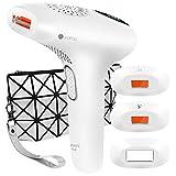 Lapurete Pro 8 IPL Haarentfernungsgerät  600.000 Lichtimpulse Haarentferner mit 3 Aufsätzen für langanhaltende Haarentfernung, Damen und Männer, 7,8J/cm²...