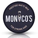 Monaco´s Prestige Matte Wax - for strong hair - professionelles Haarstyling Männer Wachs für normales bis dickes Haar
