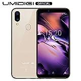 UMIDIGI A3 (2019) Android 9 Smartphone ohne Vertrag günstig, Handy mit 5.5 Zoll Display, 256GB erweiterbar, 16GB ROM, Benachrichtigung LED, 5G WiFi, Dual SIM,...