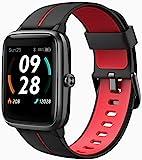 Blackview 205G Smartwatch mit GPS, Smart Armbanduhr Herren Damen Fitness Tracker Smart Watch 5ATM Wasserdicht Fitnessuhr mit Schwimmüberwachung Pulsuhr...