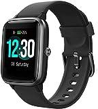 Smartwatch, Fitness Armband Voll Touchscreen 5ATM Wasserdicht, Damen Herren Smart Watch für Android IOS, Fitness Uhr mit Pulsmesser Schlafmonitor Stoppuhr...