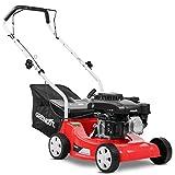GREENCUT Benzin-Rasenmäher 139cc 5PS manuelle Traktion breiter Schnitt 390 mm