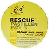 BACH ORIGINAL Rescue Pastillen Orange Holunder, 50 g