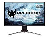 XB253QGP Gaming Monitor 24,5 Zoll (62 cm Bildschirm) Full HD, 144Hz, Fast LC 2ms (G2G), 2xHDMI 2.0, DP 1.2a, höhenverstellbar, drehbar, GSync Compatible, HDMI...