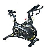 Neusten Heimtrainer Fahrrad Für Zuhause Mit Magnetbremssystem, Profi Indoor Cycle Ergometer Heimtrainer,Fitnessbike Speedbike Mit Flüsterleise...